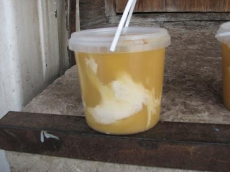 севший мёд